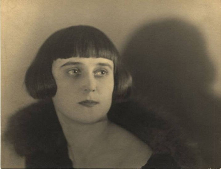 Jaromir Funke, Untitled (Portrait of Lena) c. 1929, Gelatin silver print (black & white)