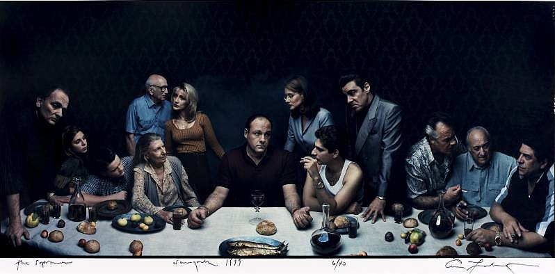 Annie Leibovitz, The Sopranos 1999, Chromogenic print (color)