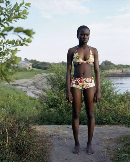 Jocelyn Lee, Untitled (Julia standing at Kettle Cove) 2005, Chromogenic print (color)