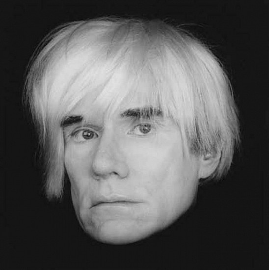Robert Mapplethorpe, Andy Warhol 1986; printed 1990, Gelatin silver print (black & white)