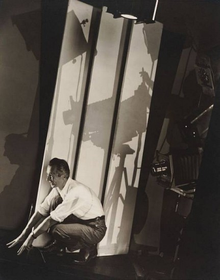 Edward Steichen, Self Portrait with Photographic Paraphernalia 1929, Gelatin silver print (black & white)