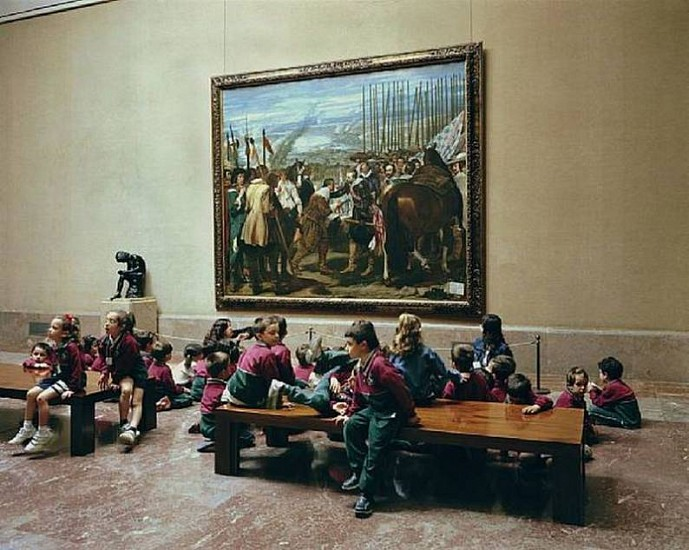 Thomas Struth, Museo Del Prado 1, Madrid 2005, Chromogenic print (color)