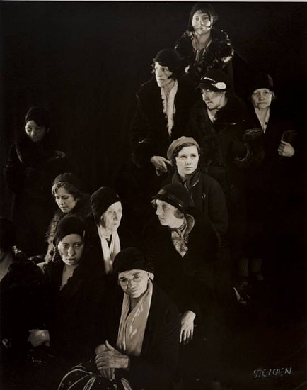 "Edward Steichen, Homeless Women, ""The Depression,"" New York 1932, Gelatin silver print (black & white)"