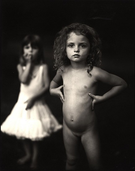 Sally Mann, Virginia at 4 1989, Gelatin silver print (black & white)
