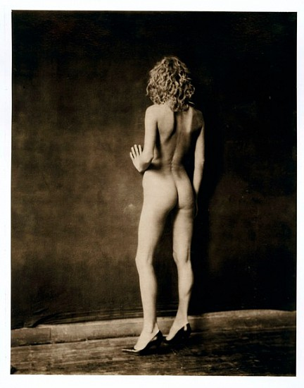Paolo Roversi, Eva from back, Paris 2002, Platinum print