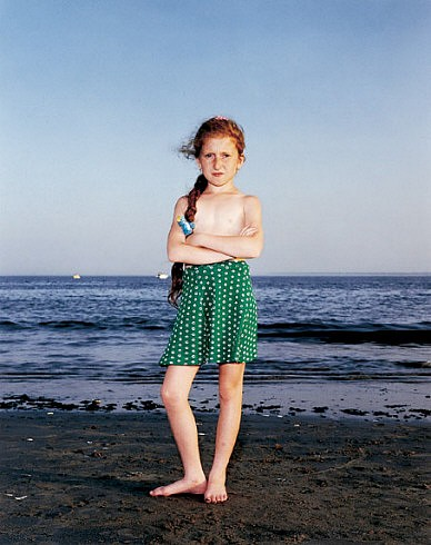 Rineke Dijkstra, Coney Island, N.Y., USA, July 9, 1993 1993; printed December 2000, Chromogenic print (color)