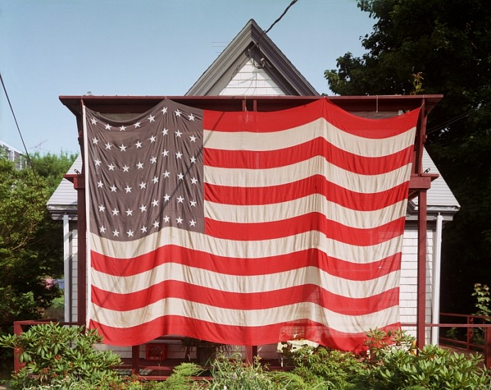Joel Meyerowitz, July 4th, Provincetown 1983; Printed 2010, Chromogenic print (color)