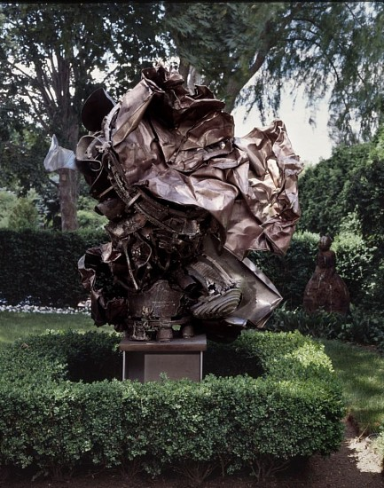 Frank Stella, Verdun 1994, Bronze and stainless steel