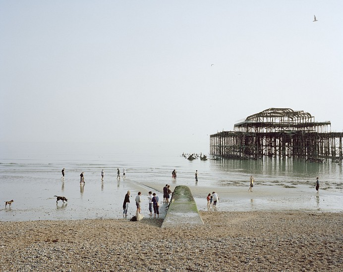 Simon Roberts, Brighton West Pier, East Sussex, April, 2011 2011, Fujicolour crystal archive print