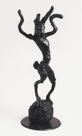 Barry Flanagan, Hare with Ball 1994, Bronze