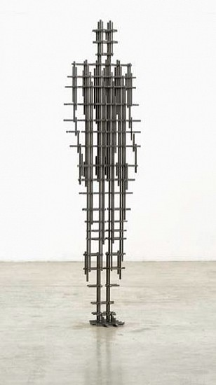 Antony Gormley, SET IV 2018, 10 mm square section mild steel bar