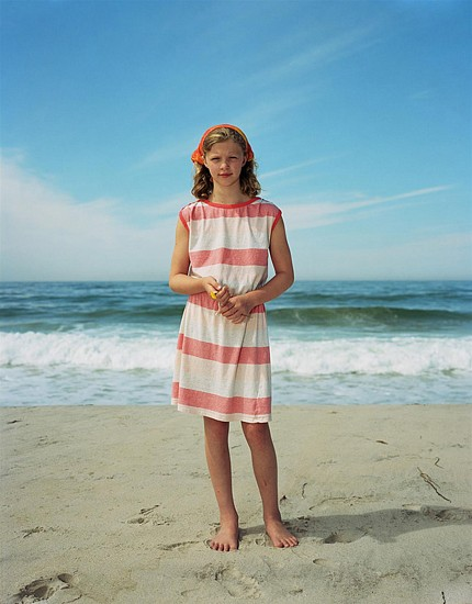 Rineke Dijkstra, Maddy, Martha's Vineyard, MA, USA, August 5, 2015 2015, Inkjet print (color)