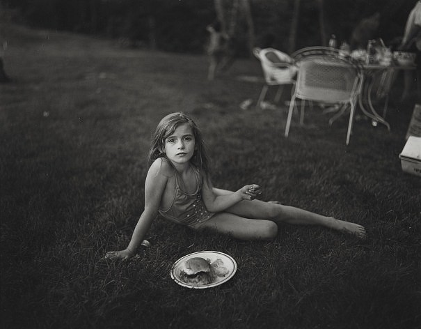 Sally Mann, Jessie at 7 1988, Gelatin silver print (black & white)